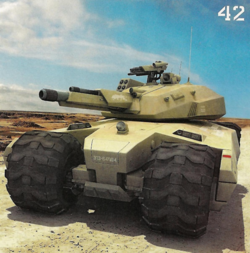 Image from a popular science article on robot tanks