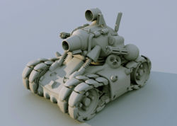Metal Slug like tank